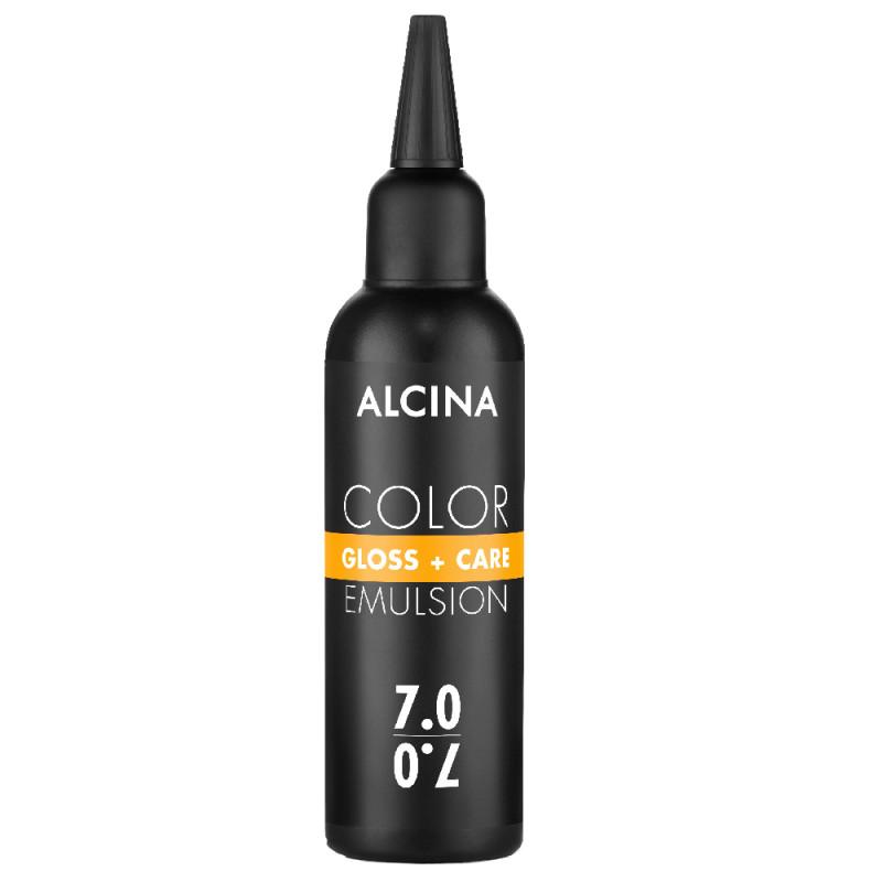 Alcina Color Gloss + Care Emulsion 7.0 mittelblond 100 ml