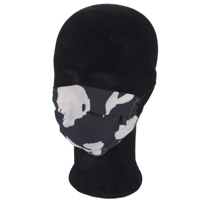 Solida Mund- und Nasenmaske 100% Polyester mit Ohrgummi, Dessin 17