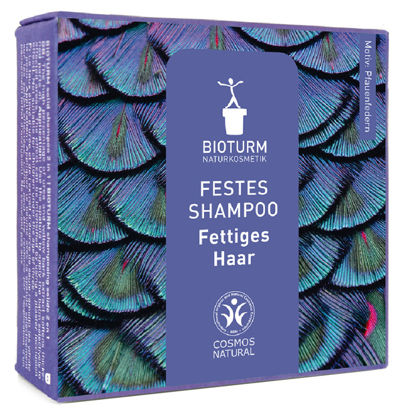 BIOTURM Festes Shampoo Fettiges Haar 100 g