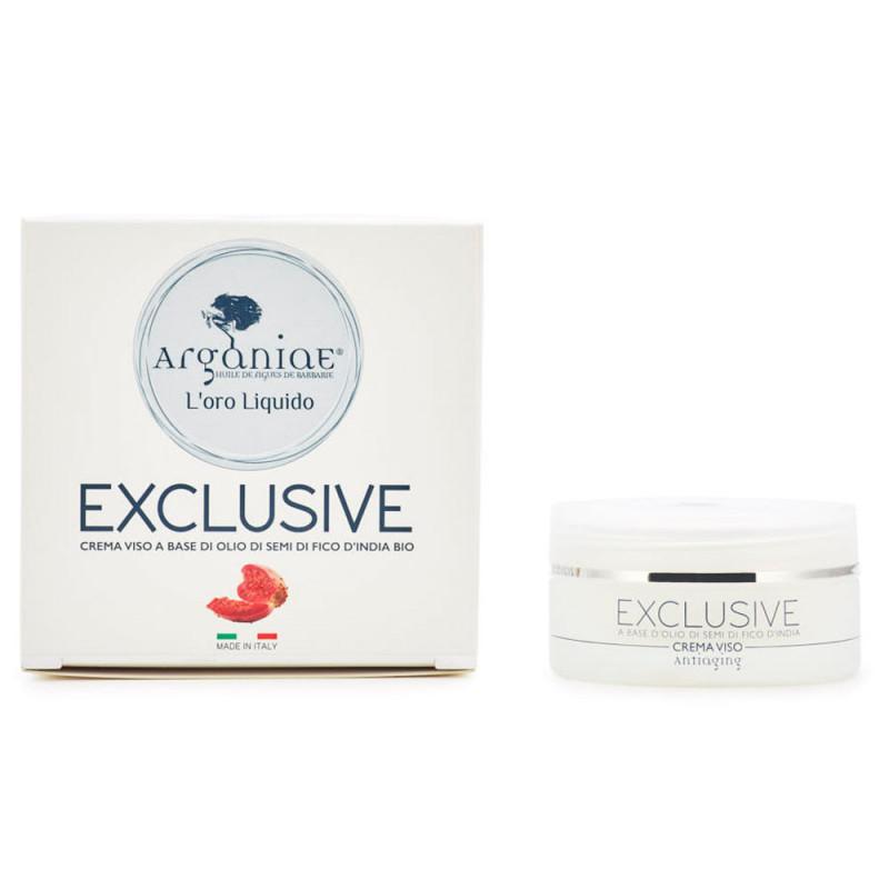 Arganiae Exclusive Gesichtscreme mit dem Bio-Kaktusfeigenkernöl 50 ml