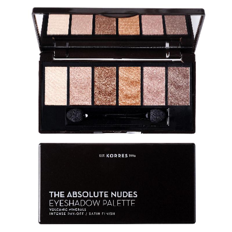 Korres The Absolute Nudes Lidschatten Palette