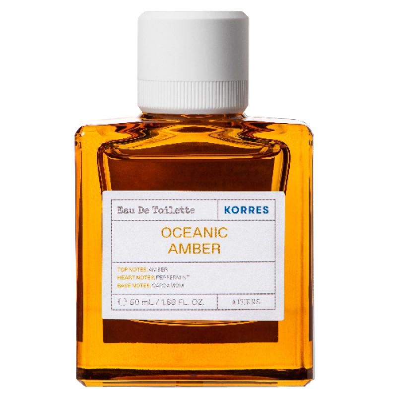 Korres Oceanic Amber Eau de Toilette für Ihn 50 ml