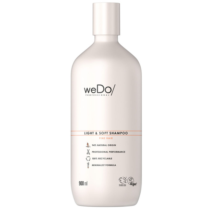 weDo Professional Light & Soft Shampoo 900 ml