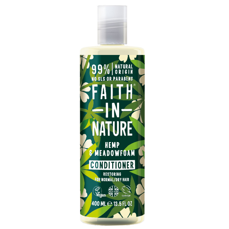 Faith in Nature Hemp & Meadowfoam Conditoner 400 ml