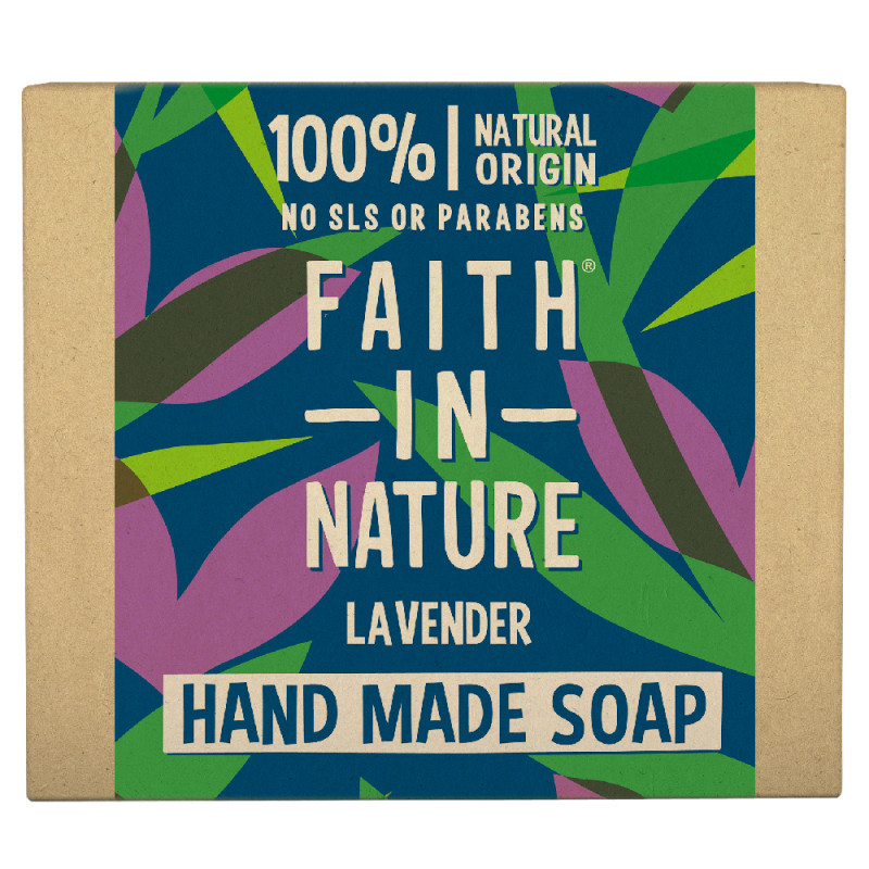 Faith in Nature Lavender Hand Soap Bar 100 g