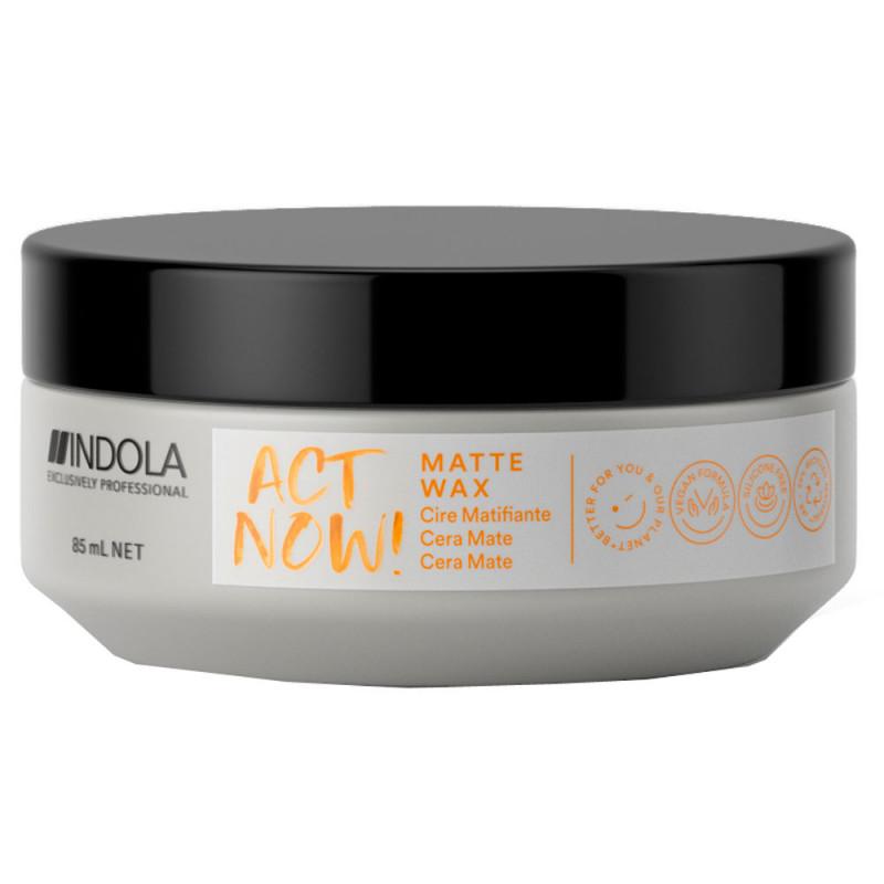 Indola Act Now! Matte Wax 85 ml