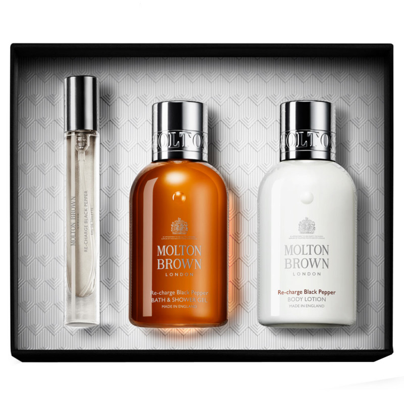 Molton Brown Re-Charge Black Pepper Fragrance Collection