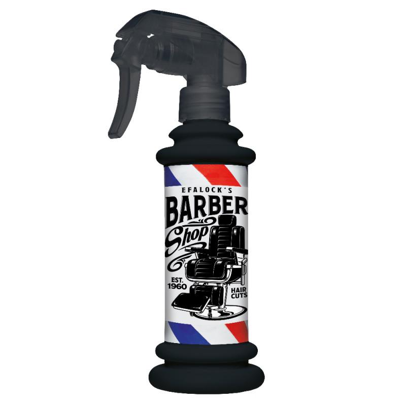 Efalock Sprühflasche Barber schwarz