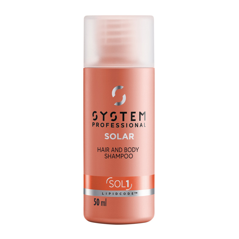 System Professional LipidCode SOL1 Solar Hair & Body Shampoo 50 ml