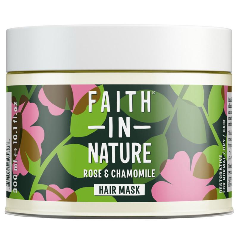 Faith in Nature Rose & Chamomile Hair Mask 300 ml