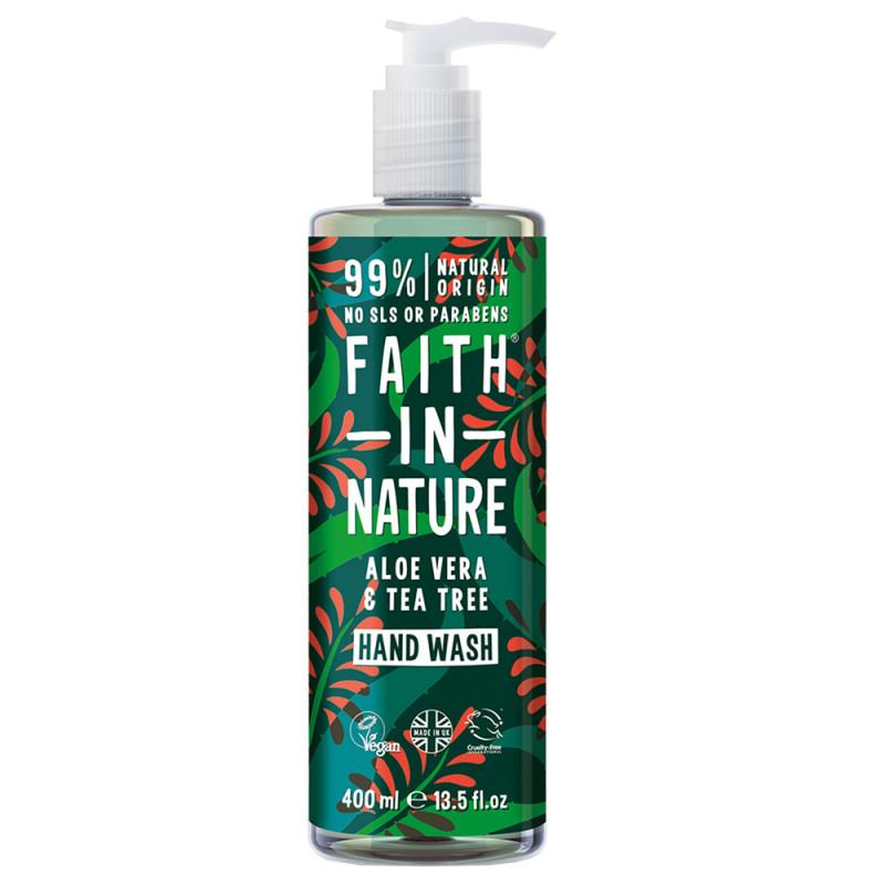 Faith in Nature Hand Wash Aloe Vera & Tea Tree 400 ml