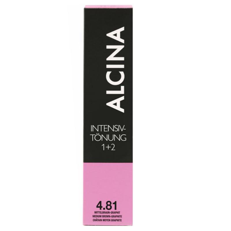 Alcina Intensiv Tönung 4.81 Mittelbraun-Graphit 60 ml