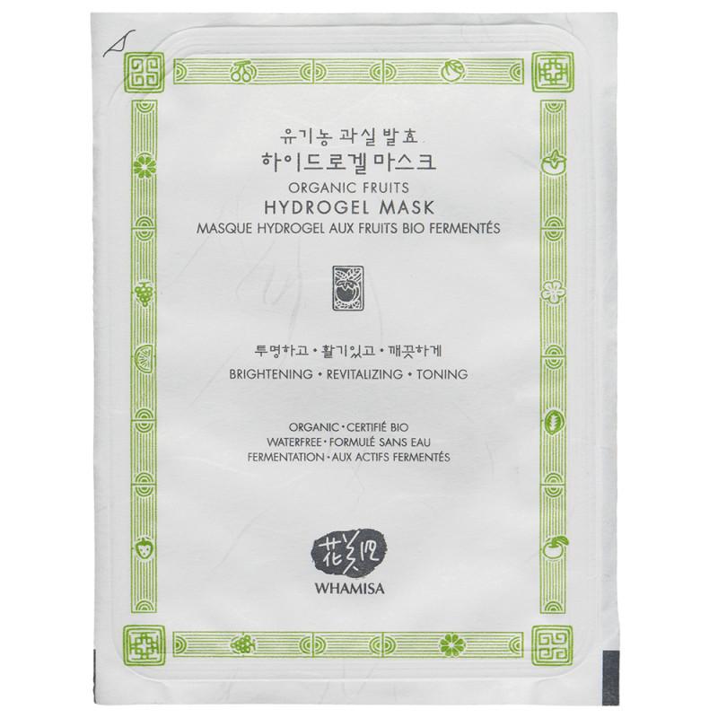 Whamisa Organic Fruits Hydro Gel Facial Mask 33 g