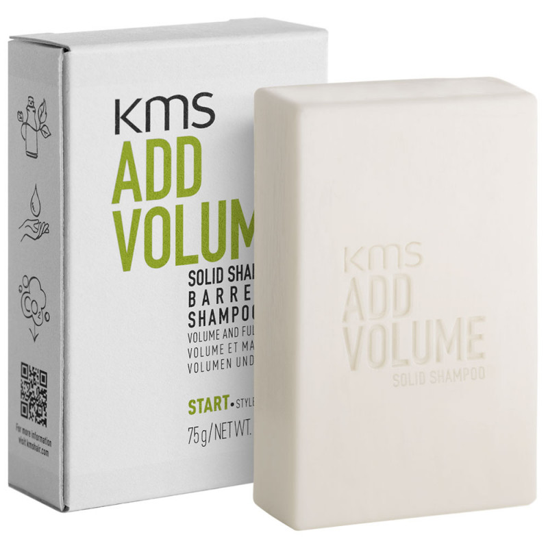 KMS Addvolume Solid Shampoo Bar 75 g