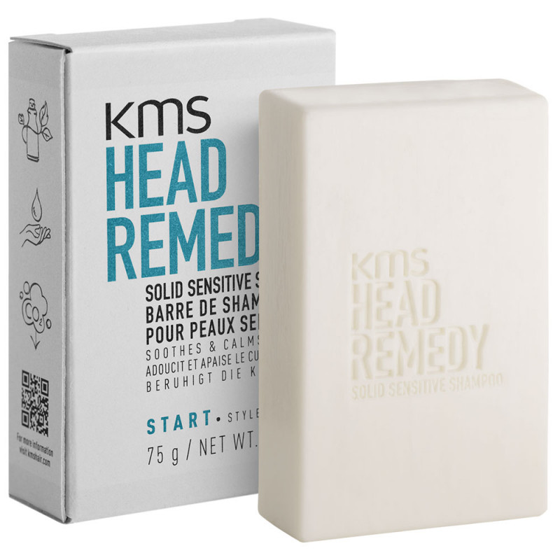KMS Headremedy Sensitive Solid Shampoo Bar 75 g