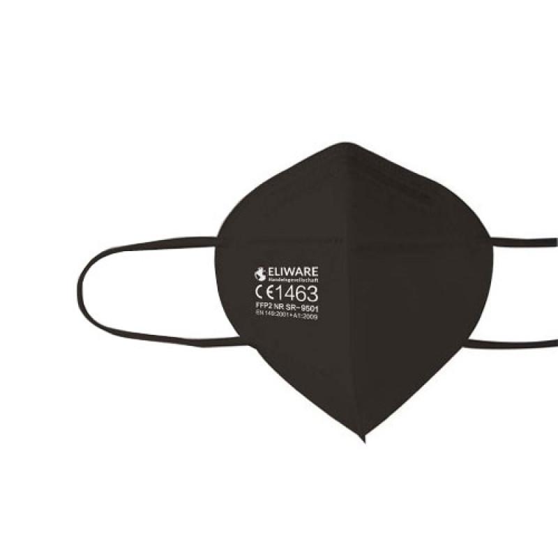 Eliware FFP2 Einweg Atemschutz-Formmaske 5 Stück