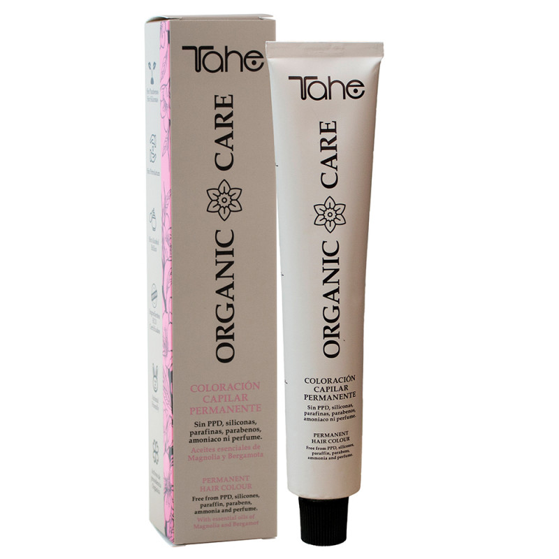 Tahe Organic Care Permanent Hair Coloration 9.02 100 ml