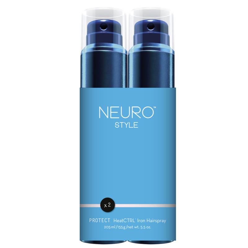 Paul Mitchell Save On Duo Neuro Protect HeatCTRL Iron Spray 2x 205 ml