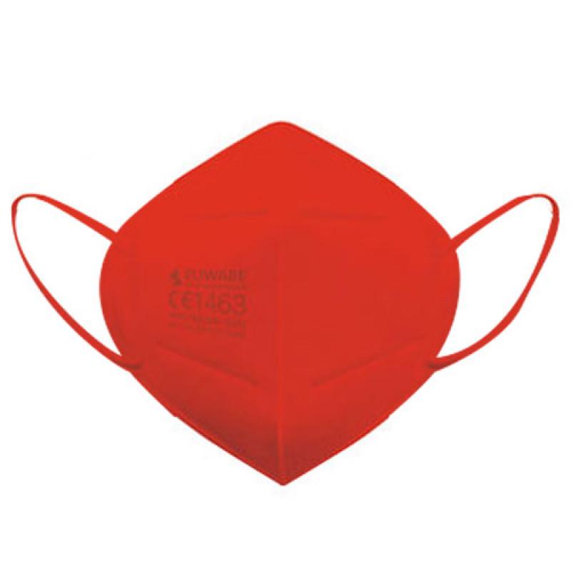 Eliware FFP2 Einweg Atemschutzmaske - rot