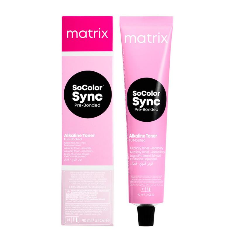 Matrix SoColor Sync Pre-Bonded Intensivtönung mittelblond natur asch 7NA 90 ml